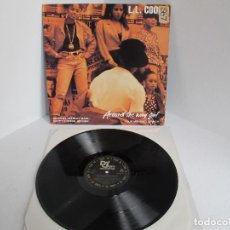Discos de vinilo: L L COOL J / AROUND THE WAY GIRL / MAXI 12 UK INGLES / HIP HOP RAP / DEF JAM / VINILIO / VG++. Lote 204402268