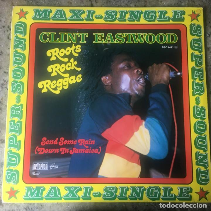 CLINT EASTWOOD - ROOTS ROCK REGGAE . MAXI SINGLE . 1978 GERMANY (Música - Discos de Vinilo - Maxi Singles - Reggae - Ska)