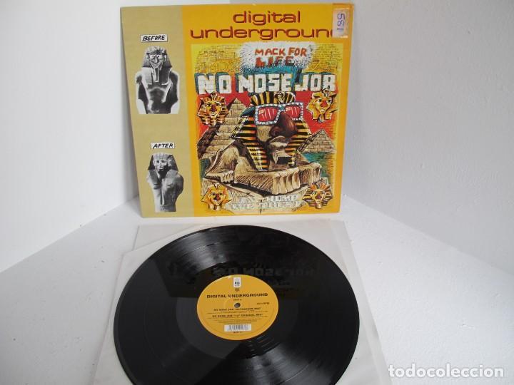 DIGITAL UNDERGROUND / NO NOSE JOB / MAXI 12 UK INGLES / HIP HOP RAP / VINILIO / VG++ (Música - Discos de Vinilo - Maxi Singles - Rap / Hip Hop)