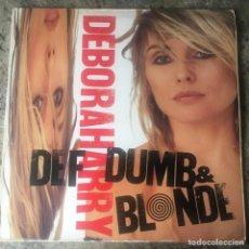 Discos de vinilo: DEBORAH HARRY - DEF, DUMB, & BLONDE . LP . 1989 CHRYSALIS. Lote 204403942