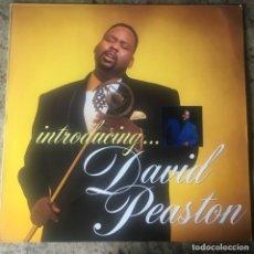 Discos de vinilo: DAVID PEASTON - INTRODUCING... . LP . 1989 GERMANY. Lote 204404345