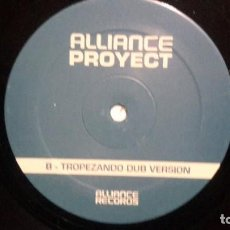 Discos de vinilo: ALLIANCE PROYECT - MAXI ELECTRO EURO HOUSE VALENCIA. Lote 204405778