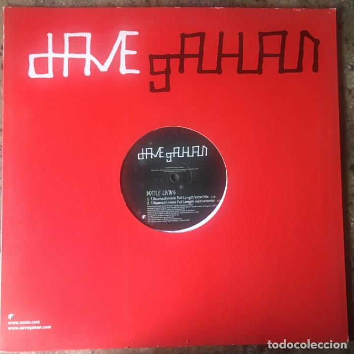 DAVE GAHAN - BOTTLE LIVING . MAXI SINGLE . 2003 . UK . DEPECHE MODE (Música - Discos de Vinilo - Maxi Singles - Electrónica, Avantgarde y Experimental)