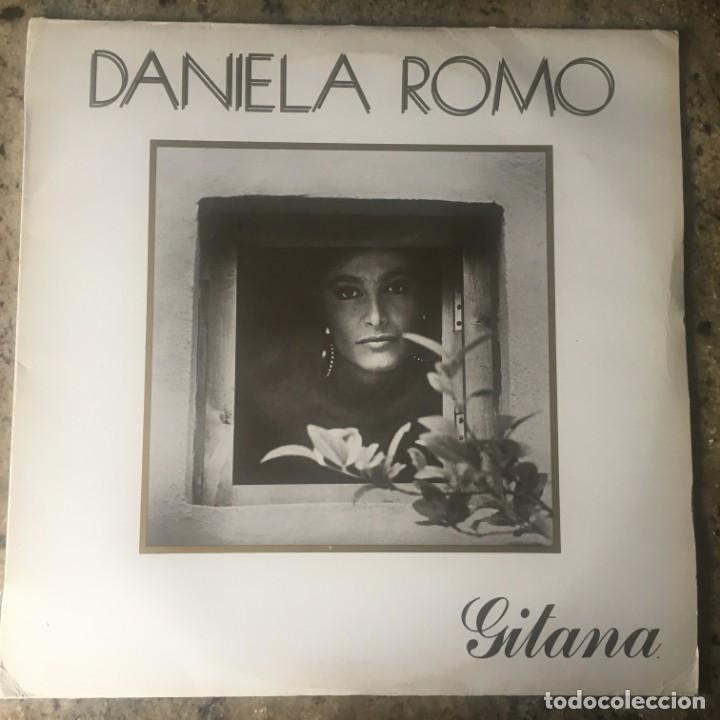DANIELA ROMO - GITANA . LP . 1987 HISPAVOX (Música - Discos - LP Vinilo - Flamenco, Canción española y Cuplé)
