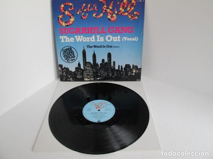 SUGARHILL GANG / THE WORD IS OUT / MAXI 12 UK / ALEMANIA / RAP HIP HOP 1980S / VINILIO VG++ (Música - Discos de Vinilo - Maxi Singles - Rap / Hip Hop)