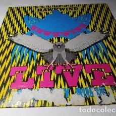 Discos de vinilo: LP - HAWKWIND – LIVE SEVENTY NINE -202 553-320 (VG+ / P) GER 1980. Lote 204409280