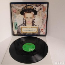 Discos de vinilo: CULTURE CLUB / KARMA CHAMELEON/ MAXI 12 UK / ELECTRONIC SYNTH POP 1980S / VINILIO / VG++. Lote 204415298
