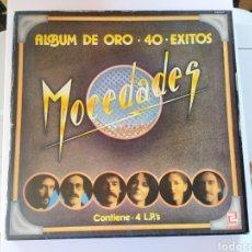 Discos de vinilo: MOCEDADES 40 EXITOS. Lote 204420207