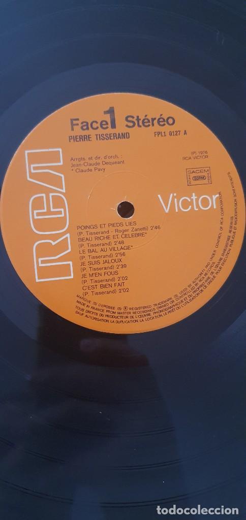 Discos de vinilo: Pierre Tisserand – Poings Et Pieds Liés Sello: RCA Victor – FPL1 0127 Formato: Vinyl, LP, Gatefold - Foto 7 - 204422911