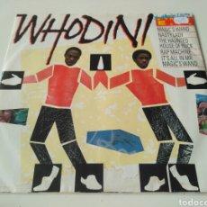 Discos de vinilo: WHODINI - THE WHODINI ELECTRO 5 TRACK E.P.. Lote 204425387
