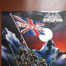 Discos de vinilo: SPIDER - RAISE THE BANNER - LP - 1986 - VG+/VG+. Lote 204432525