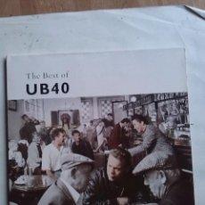 Discos de vinilo: UB 40 -THE BEST OF. Lote 204434110
