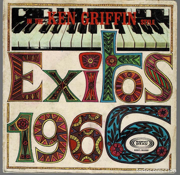ASHLEY TAPPEN IN THE KEN GRIFFIN STYLE - SPANISH EYES / ZORBA TE GREEK / EP SONOPLAY DE 1966 RF-397 (Música - Discos - Singles Vinilo - Orquestas)