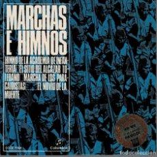 Discos de vinilo: MARCHAS E HIMNOS-HIMNO A LA ACADEMIA DE INFANTERIA, EL SITIO DEL ALCAZAR TOLEDANO ..EP COLUMBIA. Lote 204438370