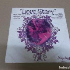 Discos de vinilo: FEDERICO CABO (EP) LOVE STORY AÑO – 1971 – EDICION CIRCULO DE LECTORES. Lote 204438491