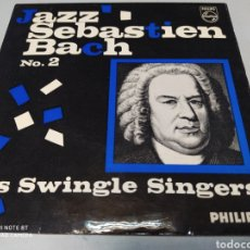 Discos de vinilo: LES SWINGLE SINGERS ‎– JAZZ SEBASTIEN BACH NO. 2 . EP UK 1963 .. Lote 204441366