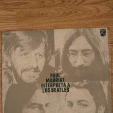 Discos de vinilo: DISCO VINILO PAUL MAURIAT . BEATLES. Lote 204441493