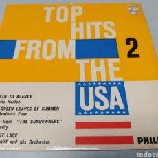 Discos de vinilo: TOP HITS FROM THE USA - 2 . ÉXITOS USA. EP . 1961. Lote 204443545