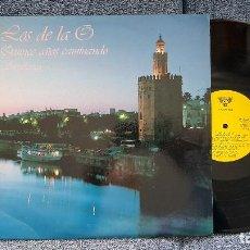 Discos de vinilo: LOS DE LA O - QUINCE AÑOS CAMINANDO (SEVILLANAS 87) EDITADO POR COLISEUM. AÑO 1.987. Lote 204449335
