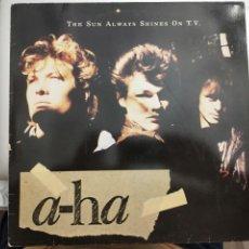Discos de vinil: A-HA – THE SUN ALWAYS SHINES ON T.V. 1985. WARNER BROS. RECORDS – 92 0410-0. VINILO COMO NUEVO. Lote 204452591