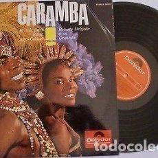 Discos de vinilo: ROBERTO DELGADO Y SU ORQUESTA SPAIN LP CARAMBA AFRO CUBAN LATIN JAZZ CHA CHA CHA MIRA !. Lote 204453612
