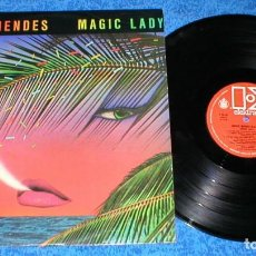 Discos de vinilo: SERGIO MENDES & BRASIL 88 SPAIN LP MAGIC LADY ORIGINAL 1979 LATIN FUNK SOUL DISCO BUEN ESTADO !!. Lote 204455122