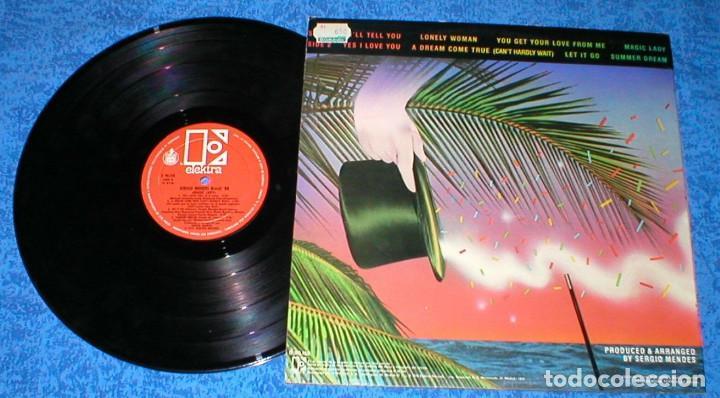 Discos de vinilo: SERGIO MENDES & BRASIL 88 SPAIN LP MAGIC LADY Original 1979 LATIN FUNK SOUL DISCO Buen Estado !! - Foto 2 - 204455122