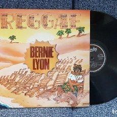 Discos de vinilo: BERNIE LYON - REGGAE. EDITADO POR MOVIEPLAY. AÑO 1.980. Lote 204456477