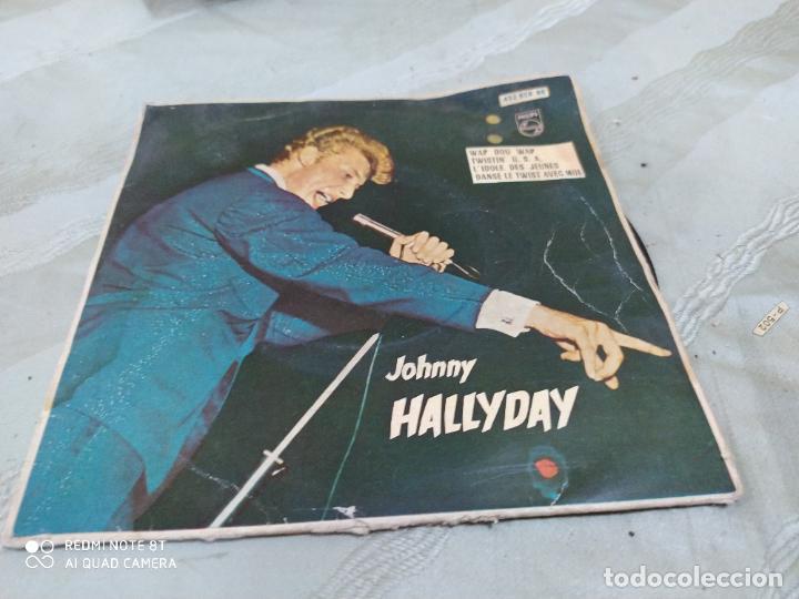 JOHNNY HALLYDAY WAP DOU WAP +3 (Música - Discos de Vinilo - EPs - Canción Francesa e Italiana)
