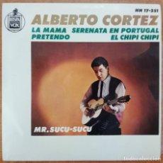 Discos de vinilo: DISCO DE VINILO EP --ALBERTO CORTEZ. Lote 204457776