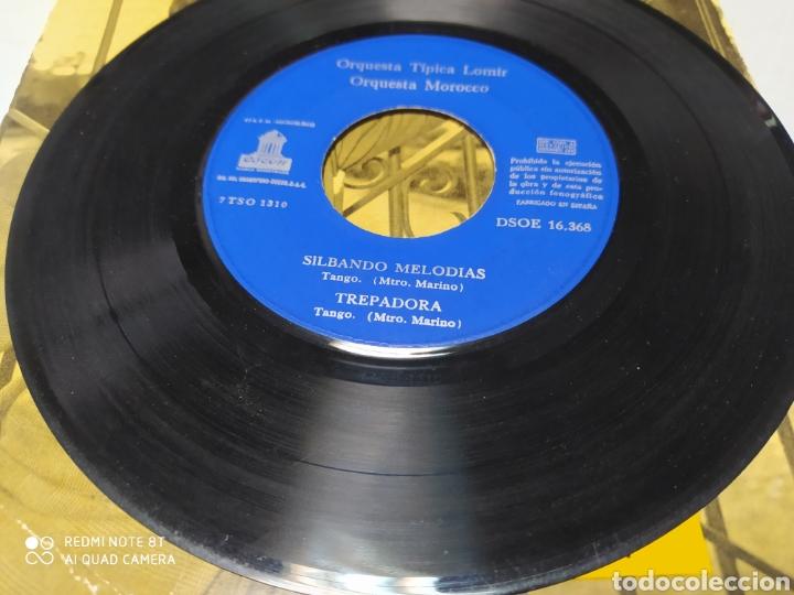 Discos de vinilo: Ricardo Gabi, Orquesta Típica Lomir, Orquesta Morocco . EP vinilo 1960 - Foto 2 - 204458316
