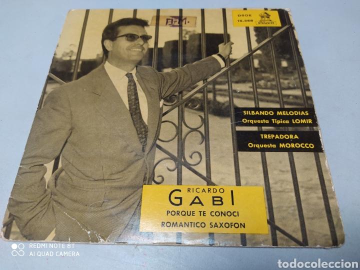 RICARDO GABI, ORQUESTA TÍPICA LOMIR, ORQUESTA MOROCCO . EP VINILO 1960 (Música - Discos de Vinilo - EPs - Grupos Españoles 50 y 60)