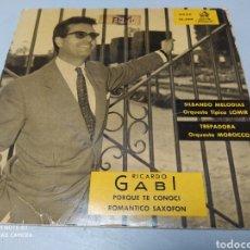 Discos de vinilo: RICARDO GABI, ORQUESTA TÍPICA LOMIR, ORQUESTA MOROCCO . EP VINILO 1960. Lote 204458316