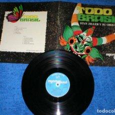 Discos de vinilo: TODO BRASIL SPAIN LP ORIGINAL 1975 STAN ZILLER LATIN FUNK SOUL SAMBA BOSSA NOVA RARO MIRA !!. Lote 204459276