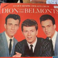 Discos de vinilo: LP - DION & THE BELMONTS ?– LO QUE SIEMPRE DESEASTE OIR DE DION & THE BELMONTS 1981. Lote 204460215