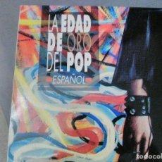 Dischi in vinile: TRIPLE LP LA EDAD DE ORO DEL POP ESPAÑOL.. Lote 232160180