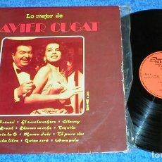 Discos de vinilo: XAVIER CUGAT SPAIN LP 1974 LO MEJOR DE XAVIER CUGAT LATIN JAZZ ORQUESTA EASY LISTENING OLYMPO. Lote 204462890