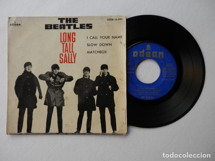 THE BEATLES - EP - ODEON DSOE 16.600 - LONG TALL SALLY + 3 - VER FOTOS Y DESCRIPCION (Música - Discos de Vinilo - EPs - Pop - Rock Extranjero de los 50 y 60)