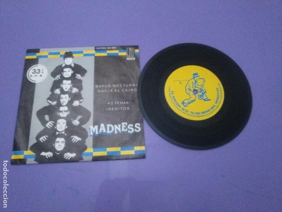 JOYA SKA EP. MADNESS.BARCO NOCTURNO HACIA EL CAIRO/ENGAÑAR AL OJO + 2. SELLO STIFF MO 1941 - 1980 (Música - Discos de Vinilo - EPs - Reggae - Ska)