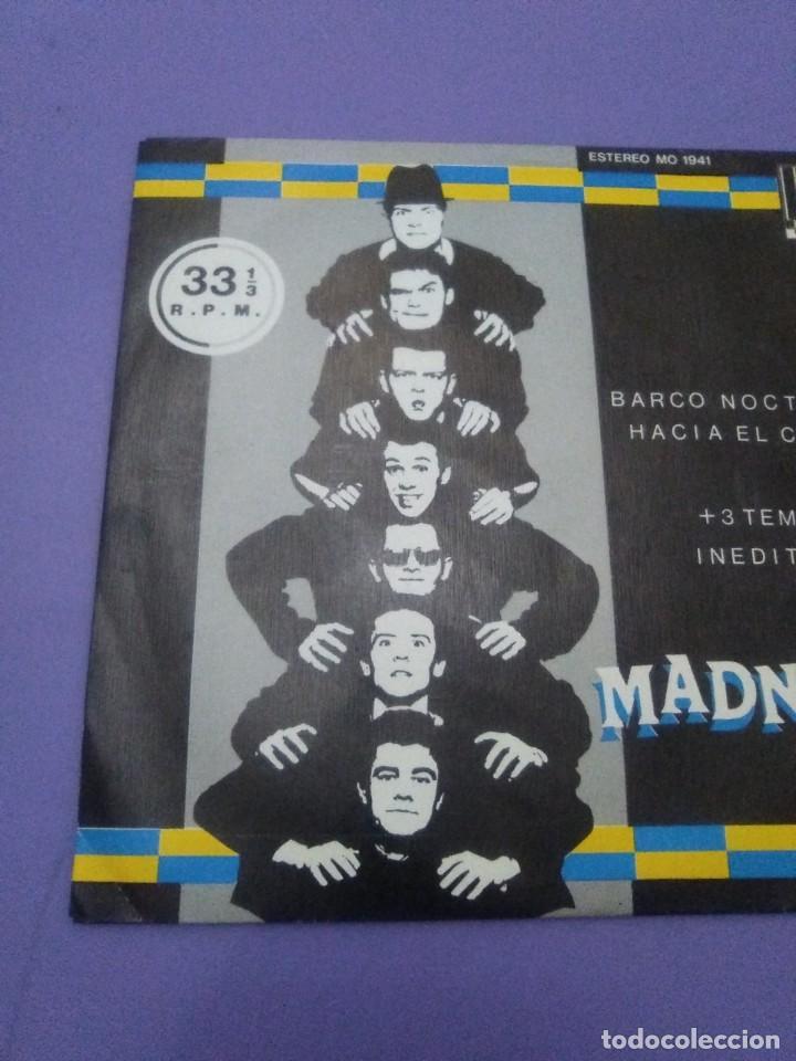 Discos de vinilo: JOYA SKA EP. MADNESS.BARCO NOCTURNO HACIA EL CAIRO/ENGAÑAR AL OJO + 2. SELLO STIFF MO 1941 - 1980 - Foto 3 - 204473075