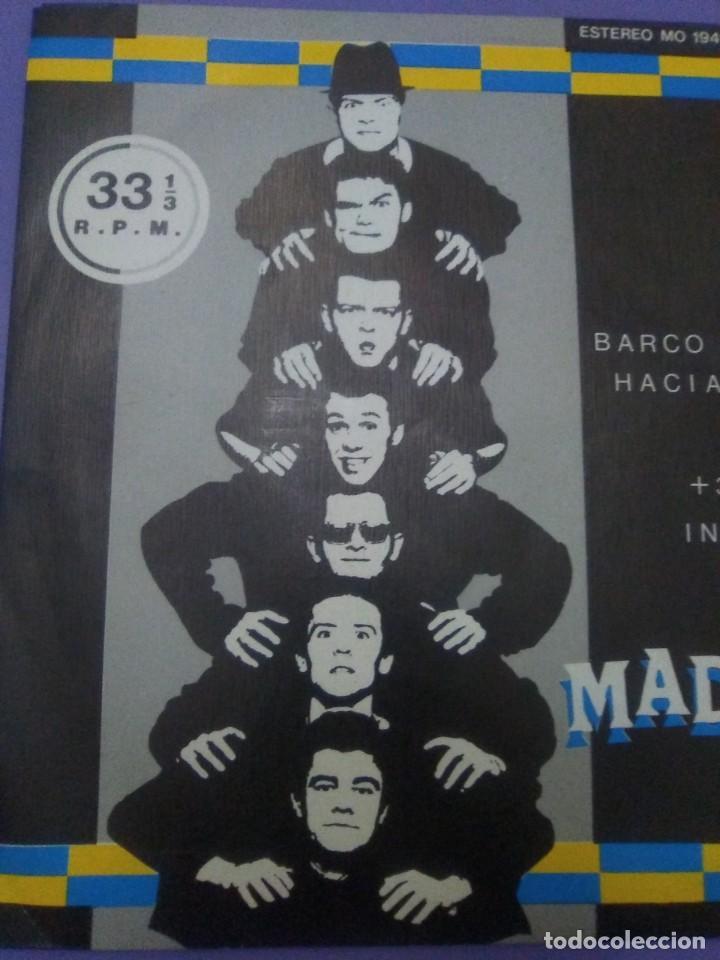 Discos de vinilo: JOYA SKA EP. MADNESS.BARCO NOCTURNO HACIA EL CAIRO/ENGAÑAR AL OJO + 2. SELLO STIFF MO 1941 - 1980 - Foto 5 - 204473075