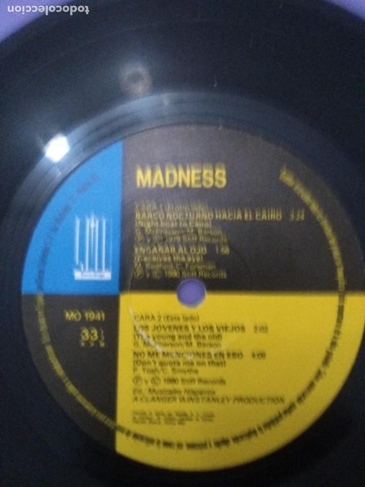 Discos de vinilo: JOYA SKA EP. MADNESS.BARCO NOCTURNO HACIA EL CAIRO/ENGAÑAR AL OJO + 2. SELLO STIFF MO 1941 - 1980 - Foto 11 - 204473075