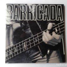 Discos de vinilo: BARRICADA - LP DOBLE - MERCURY 842 721-1 - UNO, DOS. TRES, FUEGO - VER FOTOS Y DESCRIPCION. Lote 204473311