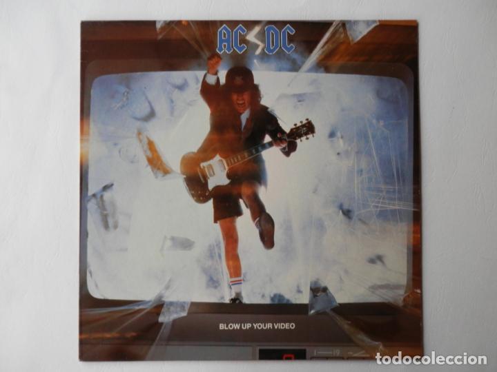 AC / DC - LP - ATLANTIC 781828-1 - BLOW UP YOUR VIDEO - VER FOTOS Y DESCRIPCION (Música - Discos - LP Vinilo - Pop - Rock - Extranjero de los 70)