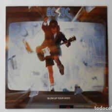 Discos de vinilo: AC / DC - LP - ATLANTIC 781828-1 - BLOW UP YOUR VIDEO - VER FOTOS Y DESCRIPCION. Lote 204474700