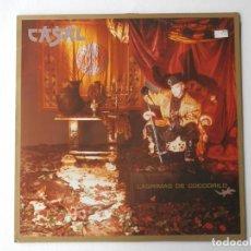 Discos de vinilo: TINO CASAL - LP - EMI 066 74 8630 1 - LAGRIMAS DE COCODRILO - VER FOTOS Y DESCRIPCION. Lote 204475050