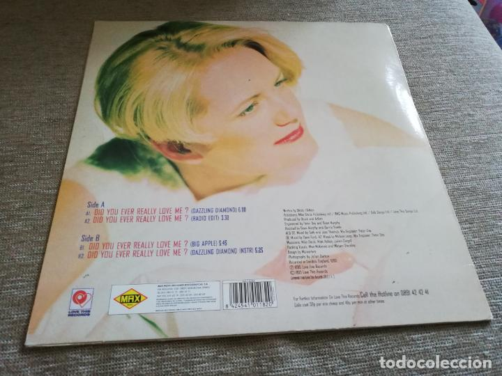Discos de vinilo: Nicki french-did you ever really love me. maxi españa - Foto 2 - 204478953