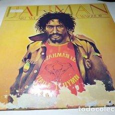 Discos de vinilo: LP -IJAHMAN – ARE WE A WARRIOR - JMI 200 (VG+ / P ) UK 1985. Lote 204479113