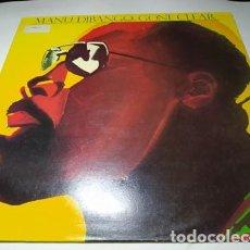 Discos de vinilo: LP - MANU DIBANGO – GONE CLEAR - ILPS 9539 (VG+ / VG ) UK 1987. Lote 204479330