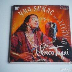 Discos de vinilo: YMA SUMAC EP DOBLE CARPETA GATEFOLD CAPITOL (1956). Lote 204483010